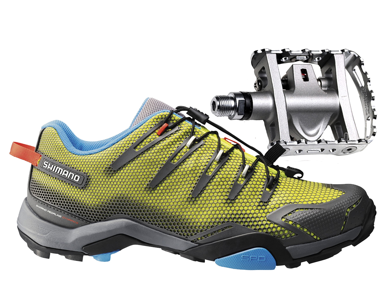 fab317cfa0c Shimano SH-MT44 Shoes & PD-M324 Pedal Combo - Brands Cycle and Fitness