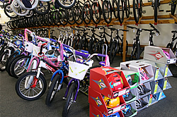 Kids Bikes and Helmets