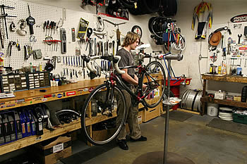 Tune Ups at The Bicycle Shop