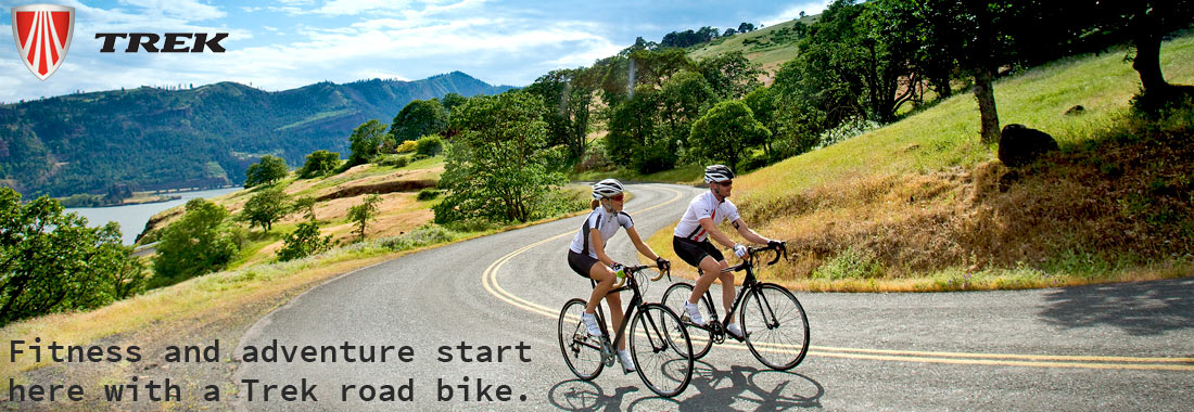 Trek road bikes boast great riding, high-tech, USA-designed carbon and aluminum frames.