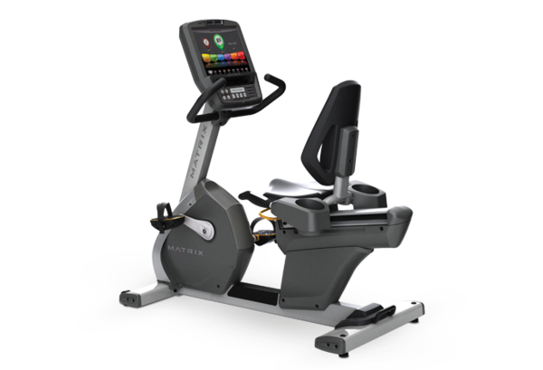"Matrix R7xe Recumbent Cycle w/15"" Touch Screen"