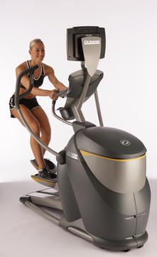 Octane Fitness Pro4700 Elliptical Trainer - Touch