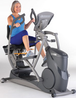Octane Fitness xRide xR6000 Seated Elliptical - Touch
