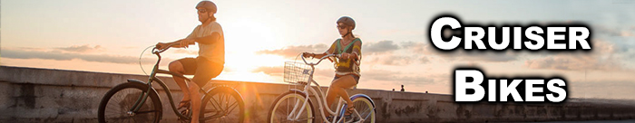 Cruise around town on a sweet Cruiser Bike from Diamond Cycle!