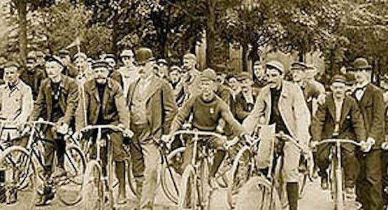 Diamond Cycle Historical Photo