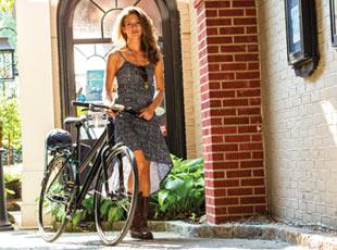 Ladies' bikes at Diamond Cycle