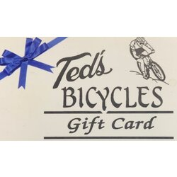 Ted's Bicycles Gift Card