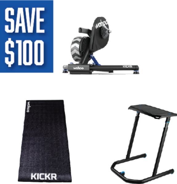 Wahoo KICKR Pain Cave Bundle