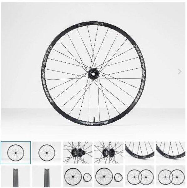 """Bontrager Bontrager Line Comp 30 TLR Boost 29"""" Disc MTB Wheel"""