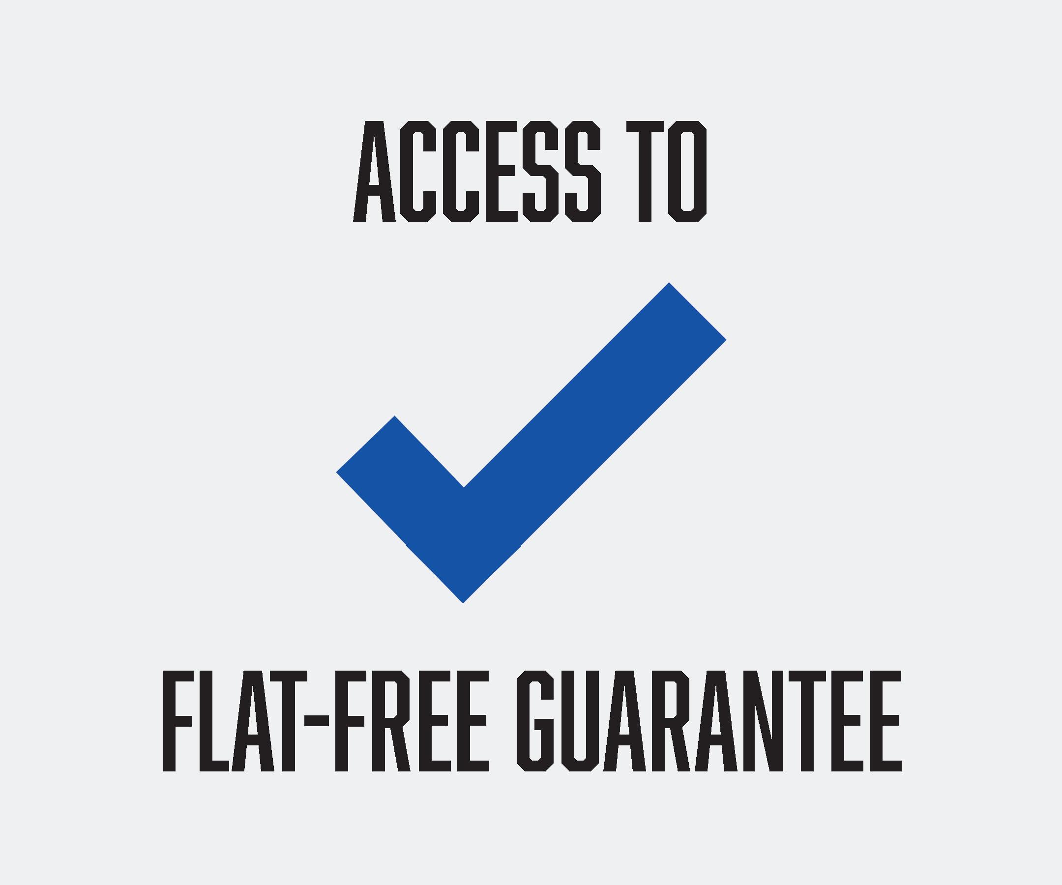 flat free guarantee