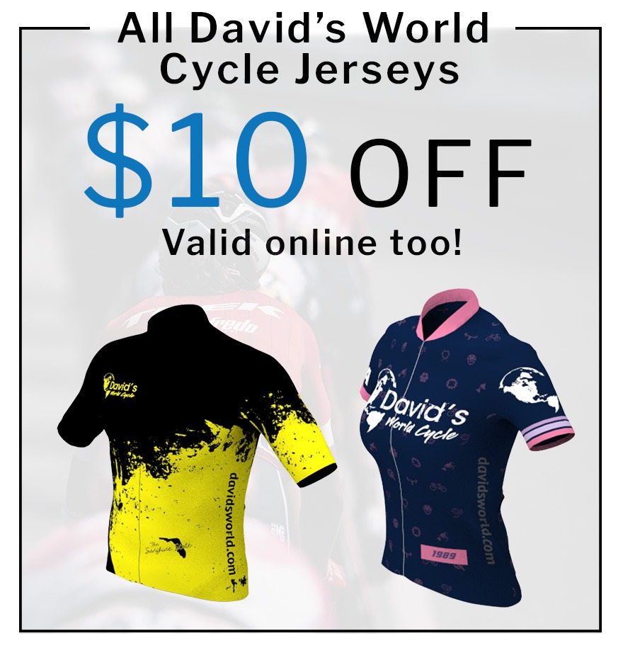 $10 OFF Any DWC Jersey