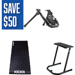 Wahoo KICKR Snap Pain Cave Bundle
