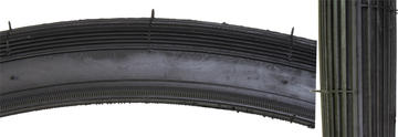 Sunlite S-6 2x1 3/8 tyre (37-597) Options: Black
