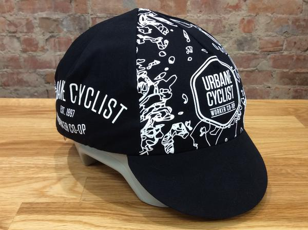 Urbane Glitch Cycling Cap