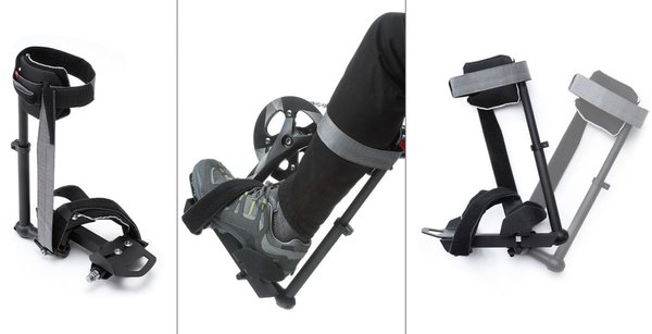 Hase Pedal with Calf Support Options: Left