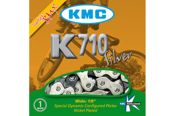 "KMC K1 1/8"" Single-Speed Chain (formerly K710)"