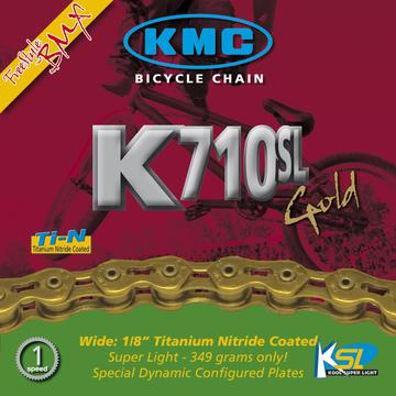 "KMC K710SL-Ti 1/8"" Single-Speed Chain"