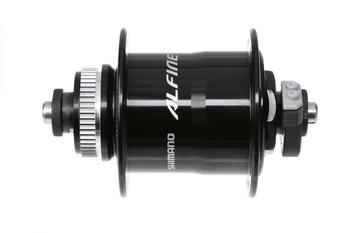 Shimano Alfine DH-S701 Dynamo Hub Colour: Black