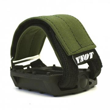 YNOT Pedal Strap Colour: Army Green