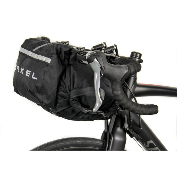 Arkel Rollpacker 15 FRONT Bikepacking Bag with Rack