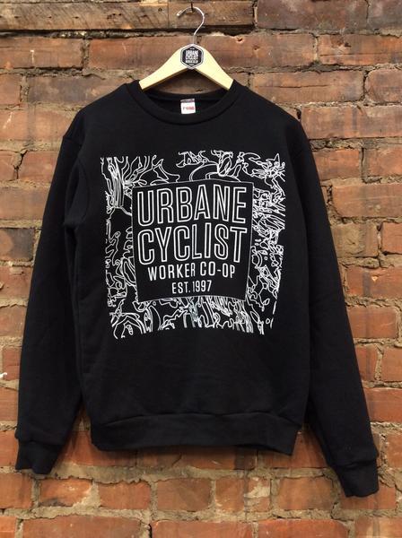 Urbane Glitch Crewneck
