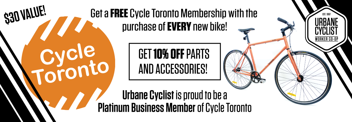Free Cycle Toronto Membership at Urbane Cyclist
