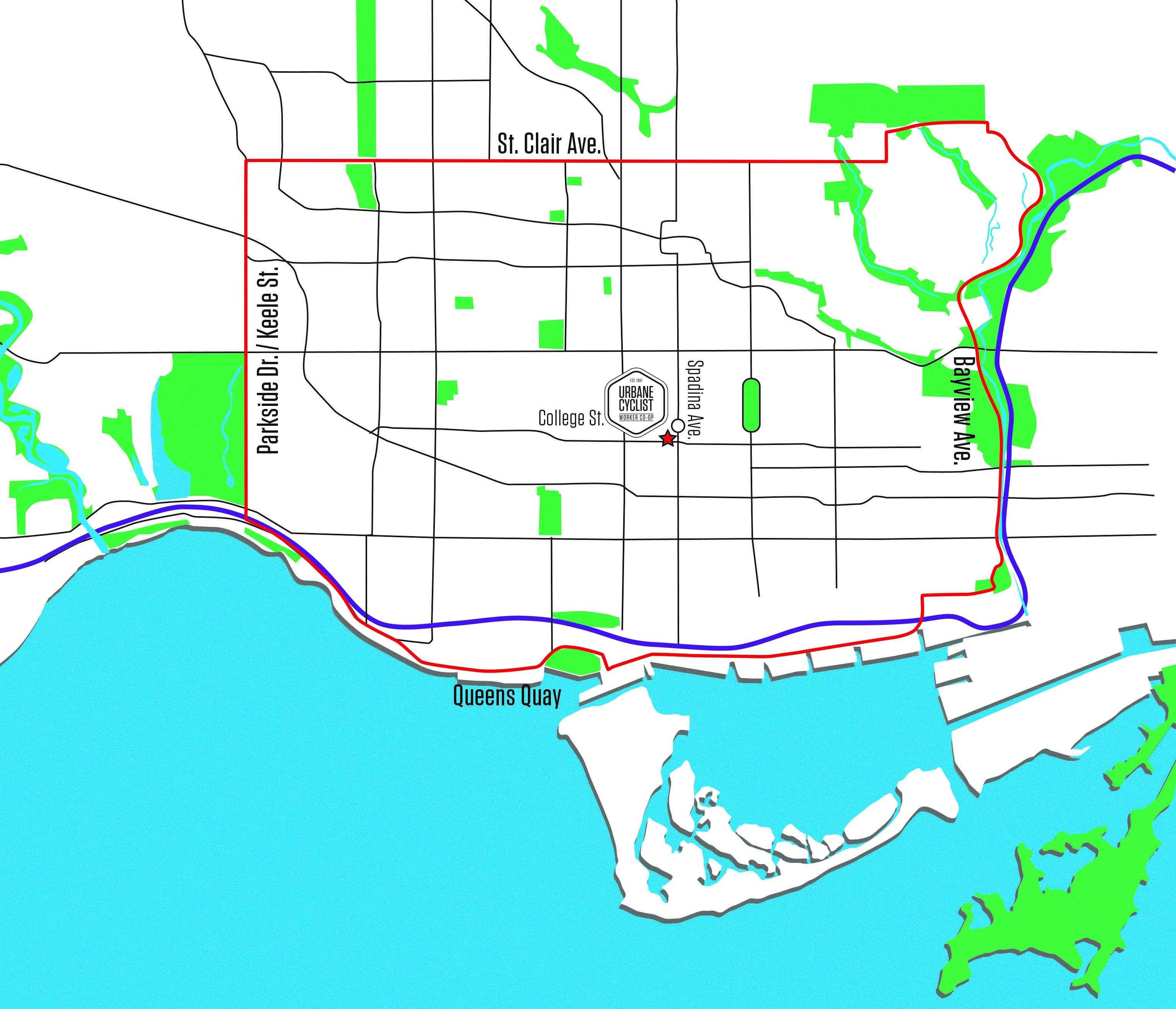 Urbane Mobile Bike Repair Map