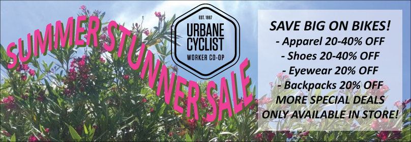 Huge Deals and Discounts at Urbane Cyclist! Many more in store!