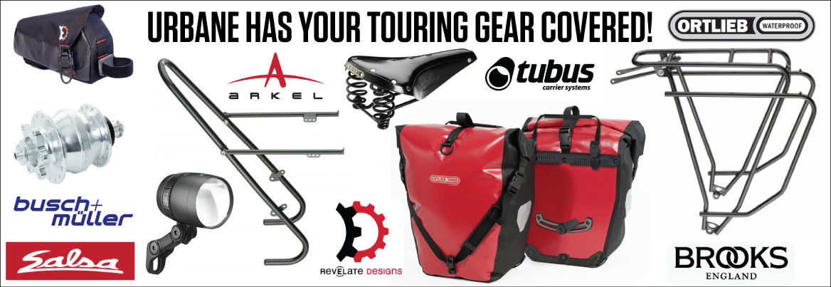 Bike Touring Gear For Sale