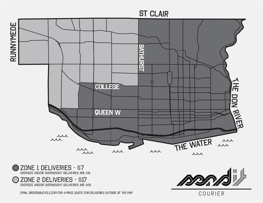 Urbane Delivery Zones