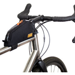 Restrap Top Tube Bag 0.8L Black