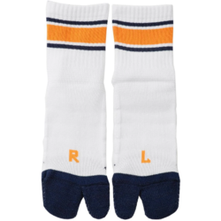 SimWorks RAL Tabby Sport Socks - Navy/Orange