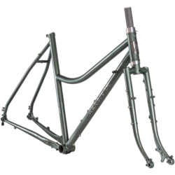 Velo Orange Polyvalent Low Kicker Frameset - Metallic Sage