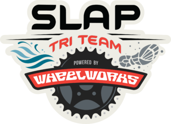 SLAP Tri Team Powered by Wheel Works logo