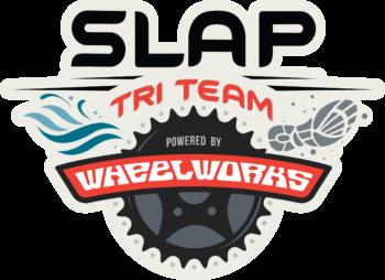 SLAP Tri Team Powered by Wheel Works logo