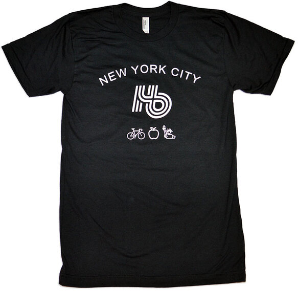 Hilltop Bicycles Hb NYC Glyph Tee | American Apparel
