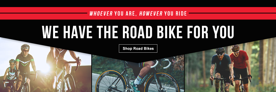 Road Bikes at Hilltop Bicycles
