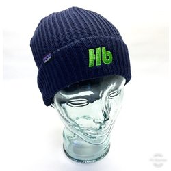 Hilltop Hb Logo Patagonia Fisherman's Rolled Beanie Navy