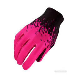 Supacaz SupaG Long Gloves Black/Neon Pink