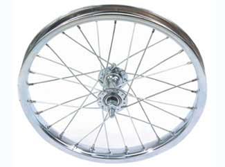 Trek Wheel Front Sta-tru 16x1.75 28h Stl/cp/stl Bt
