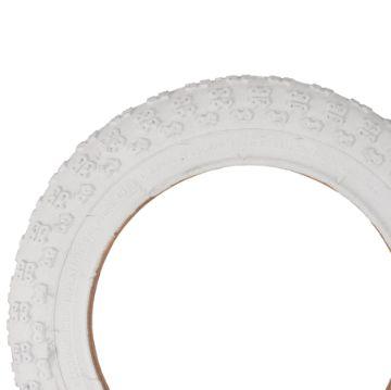 "Kenda 12"" Deluxe White Tire"