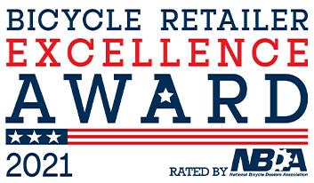 Bicycle Retailer Excellence Award 2021 logo