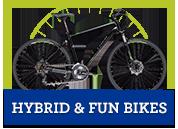on sale hybrid bikes