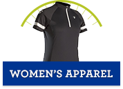 Women's cycling apparel on sale