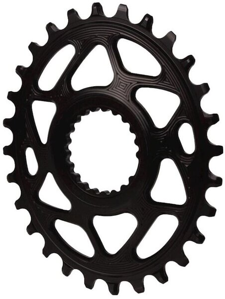 absoluteBLACK Oval Direct Mount N/W Chainring for Shimano 12SPD 28T