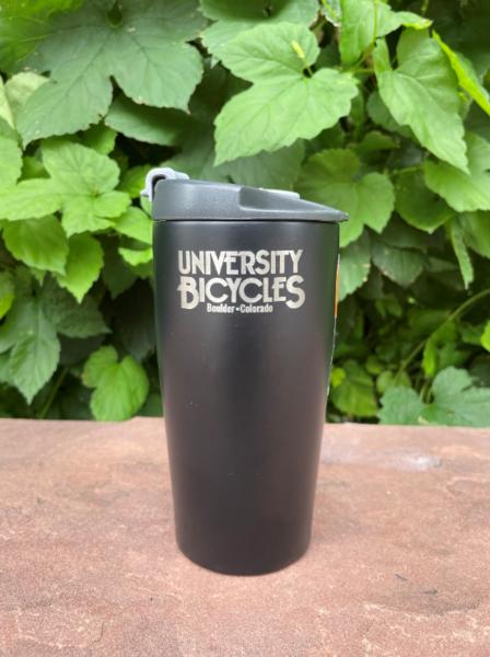University Bicycles Logo GSI Stainless Mug