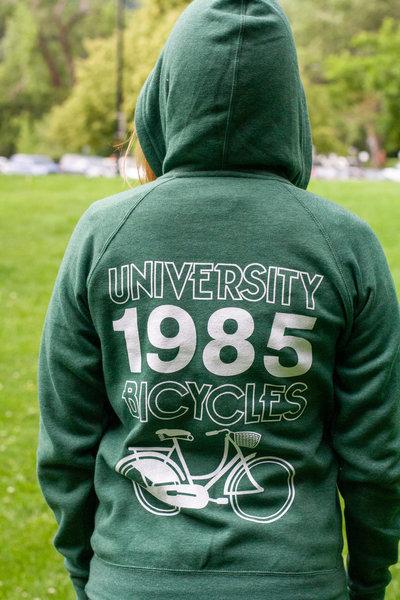 University Bicycles 1985 Hoody