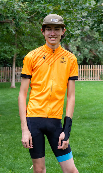 University Bicycles Men's Hi Viz Jersey