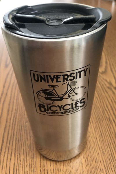 University Bicycles Stainless Mug