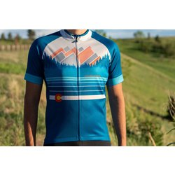 University Bicycles Men's Boulder Colorado Jersey